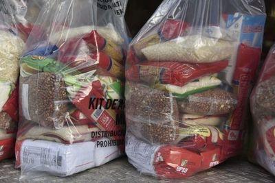 Entrega de kits de alimentos continúa hoy en varias instituciones educativas de Asunción