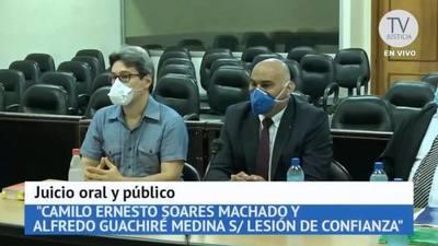 "Fiscalía pide que se confirme condena en caso ""coquitos de oro"""