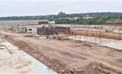 Obras de la cárcel de Minga Guazú ya están con 48% de avances