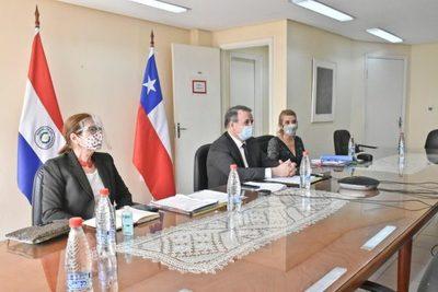 Paraguay y Chile destacan el excelente relacionamiento y fortalecerán el comercio