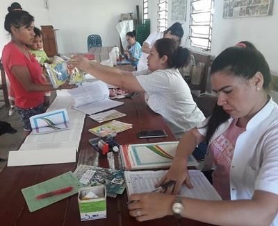Salud intensifica asistencia sanitaria a pobladores chaqueños