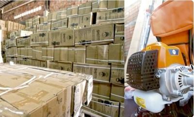 1.000 carpidoras del MAG duermen en un depósito – Prensa 5