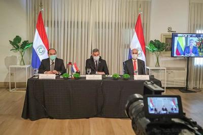 Mandatarios del PROSUR tratan cooperación regional para luchar contra el COVID-19