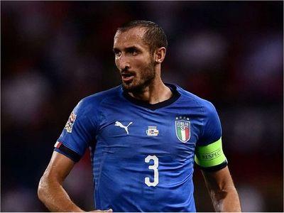 Chiellini regresa a la lista de 37 de Mancini