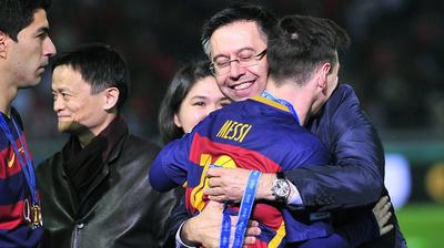 """""""Si el problema soy yo, me voy"""", Bartomeu renunciaría para que Messi siga en el Barça"""