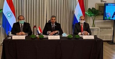 Presidentes de PROSUR analizaron cooperación durante la Pandemia