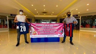 Jugadores de Cerro donan sus camisetas para 'Todos somos Bianca'