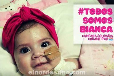 """Acción Solidaria: El INCOOP declara de interés cooperativo la """"Campaña Solidaria Curamepy Todos Somos Bianca"""""""