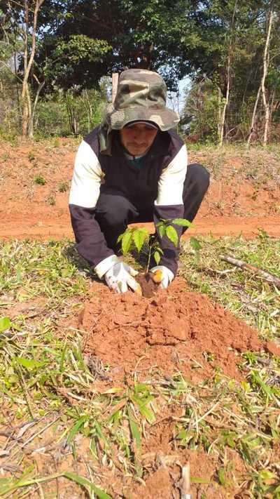 Municipalidad de Caaguazú realizo trabajos de mejoramiento en Brasilero Cué