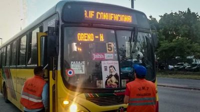 Los buses dejarán de cobrar con dinero en efectivo