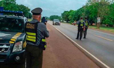 Caminera no multará por documentos vencidos hasta el 30 de setiembre