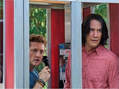 Keanu Reeves y la roquera esperanza de Bill & Ted