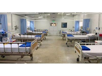 Central sumará 120 camas para Covid