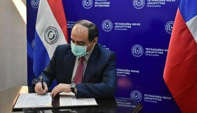 Cancillería avanza en proyectos con Chile