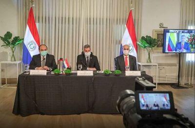 Presidentes acuerdan acceso universal a la vacuna y reapertura gradual de fronteras