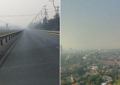 ¿Por qué hay tanto humo? Denuncias por humaredas en Asunción y Central invaden las redes