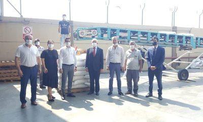 Primera carga de arroz paraguayo llega a Turquía