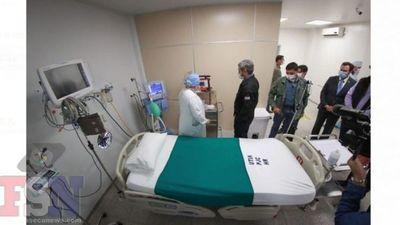 La Pandemia aprieta y nuestra Terapia Intensiva del Hospital Regional en Off