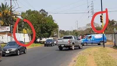 Semáforos averiados crea serios inconvenientes a conductores