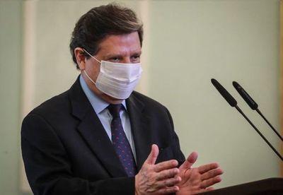 Salud del Ministro del Interior va mejorando
