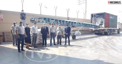 Turquía recibió las primeras 10 toneladas de arroz procedente del Paraguay