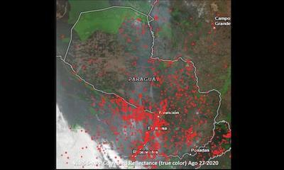 Registran casi 3.000 focos de calor en el país – Prensa 5