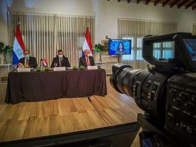 Presidentes analizan apertura de fronteras y acceso a vacunas