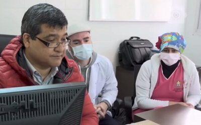 Médicos del Pediátrico reciben capacitación de profesionales italianos