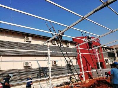 Hospital de Villa Elisa contará con pabellón de contingencia