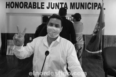 Se respetó la ley: el concejal Éver Salinas es el legítimo presidente de la Junta Municipal de Pedro Juan Caballero
