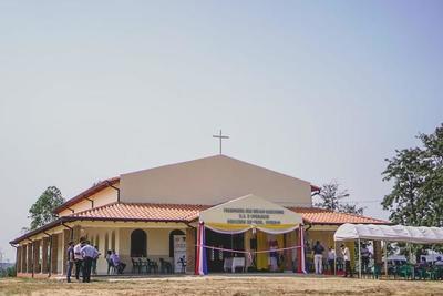 Inauguran una parroquia en R.I 3 Corrales – Prensa 5