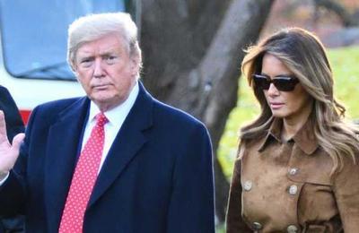 Usuarios de Internet ocuparon el vestido de Melania para atacar a Donald Trump
