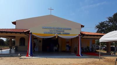 Nueva parroquia en R.I 3 Corrales fue inaugurada