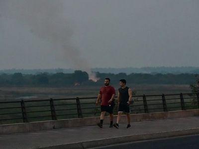 SEN pide a la ciudadanía evitar quema de basura y de campo