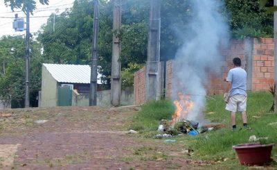 Recuerdan que quema de pastizales y de basuras deben ser denunciadas ante los municipios