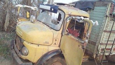 Crónica / Camionero fue robado y encima le balearon