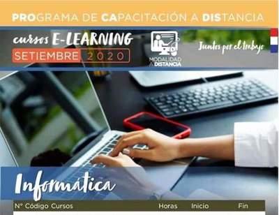 Ofrecen 894 cursos online para jóvenes y adultos •