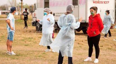 Argentina registra más de 10.000 nuevos casos de COVID-19 y 211 muertes diarias