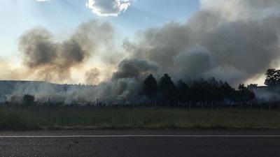 Piden denunciar ante municipios la quema de pastizales y basuras