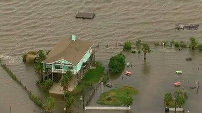 Murieron unas 14 personas en EEUU por el paso del huracán Laura