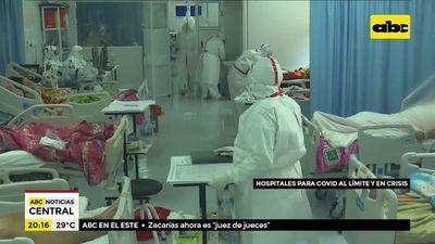 """Hospitales empiezan a estar a tope y anuncian """"nuevo protocolo"""" para cubrir carencia de test"""