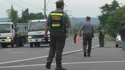 Caminera no multará por documentos vencidos hasta el 30 de septiembre