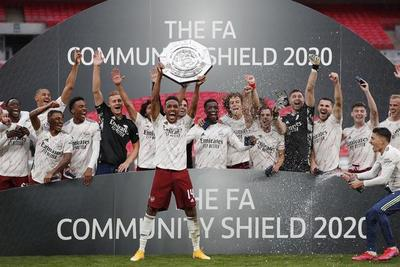 Arsenal es campeón de la Community Shield