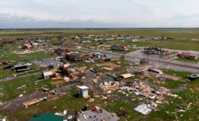 HOY / Huracán en EEUU deja 15 muertos y tendal de damnificados