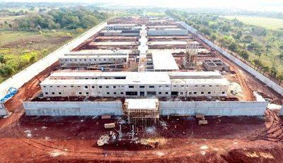 Un 48% de avance presenta construcción de la nueva penitenciaría de Minga Guazú – Diario TNPRESS