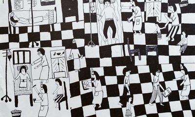Dibujo indígena contemporáneo