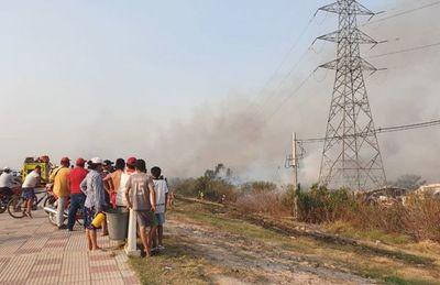 Quemas intencionales devastan reserva y contaminan el aire