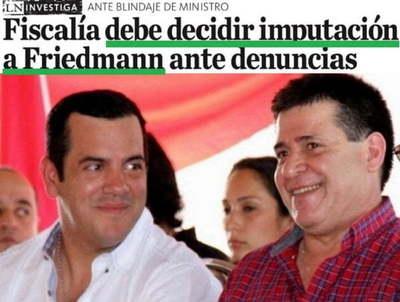 """Grupo Cartes envía una """"orden"""" a la Fiscalía en el caso Friedmann"""