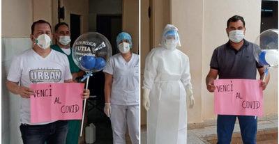 COVID-19: Dos pacientes recibieron su alta médica en Concepción