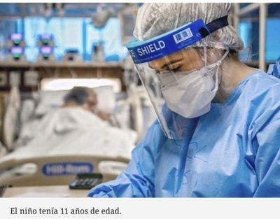 Salud confirma primera muerte de un niño a causa del COVID-19